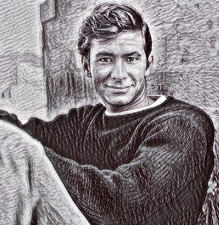 Anthony Perkins by BrownHairedBoy